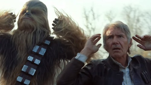 TFA Han and Chewie