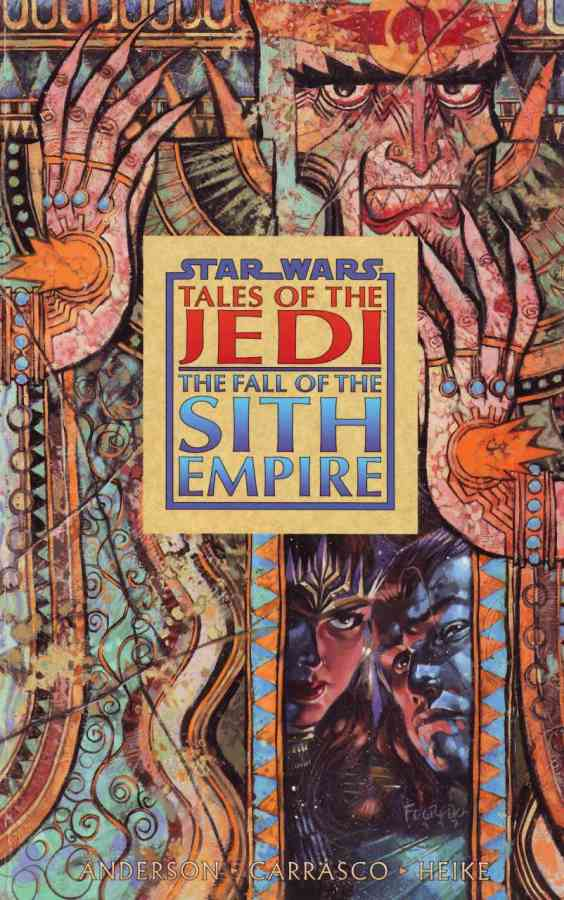 The Fall of the Sith Empire Cover