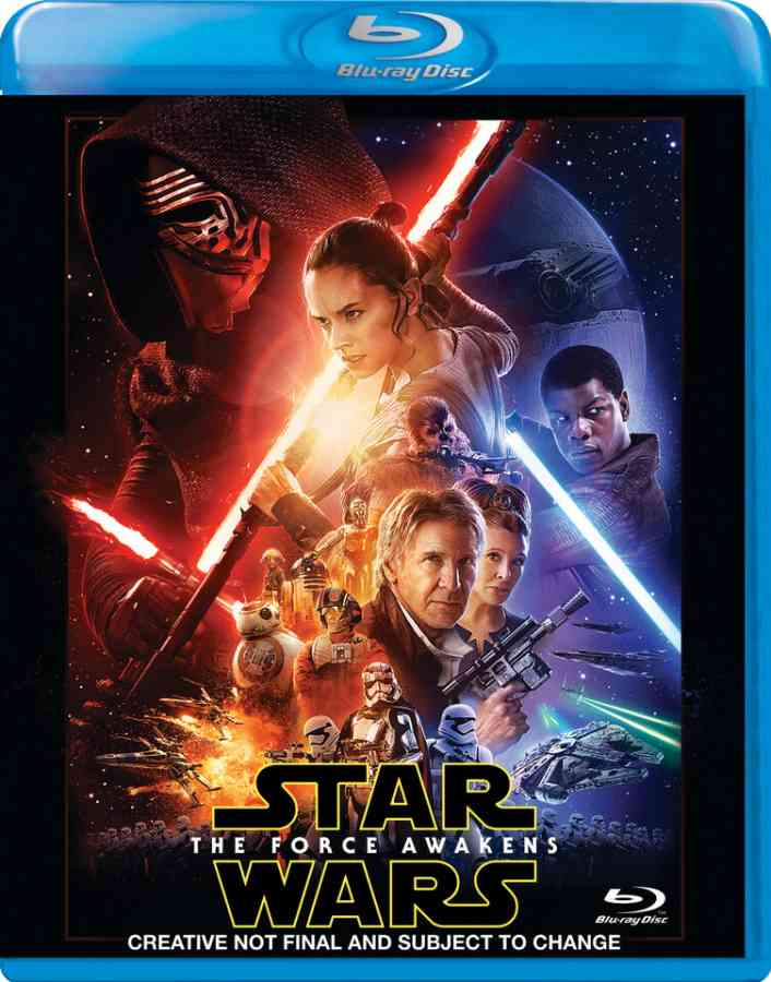 Star wars blu ray release date