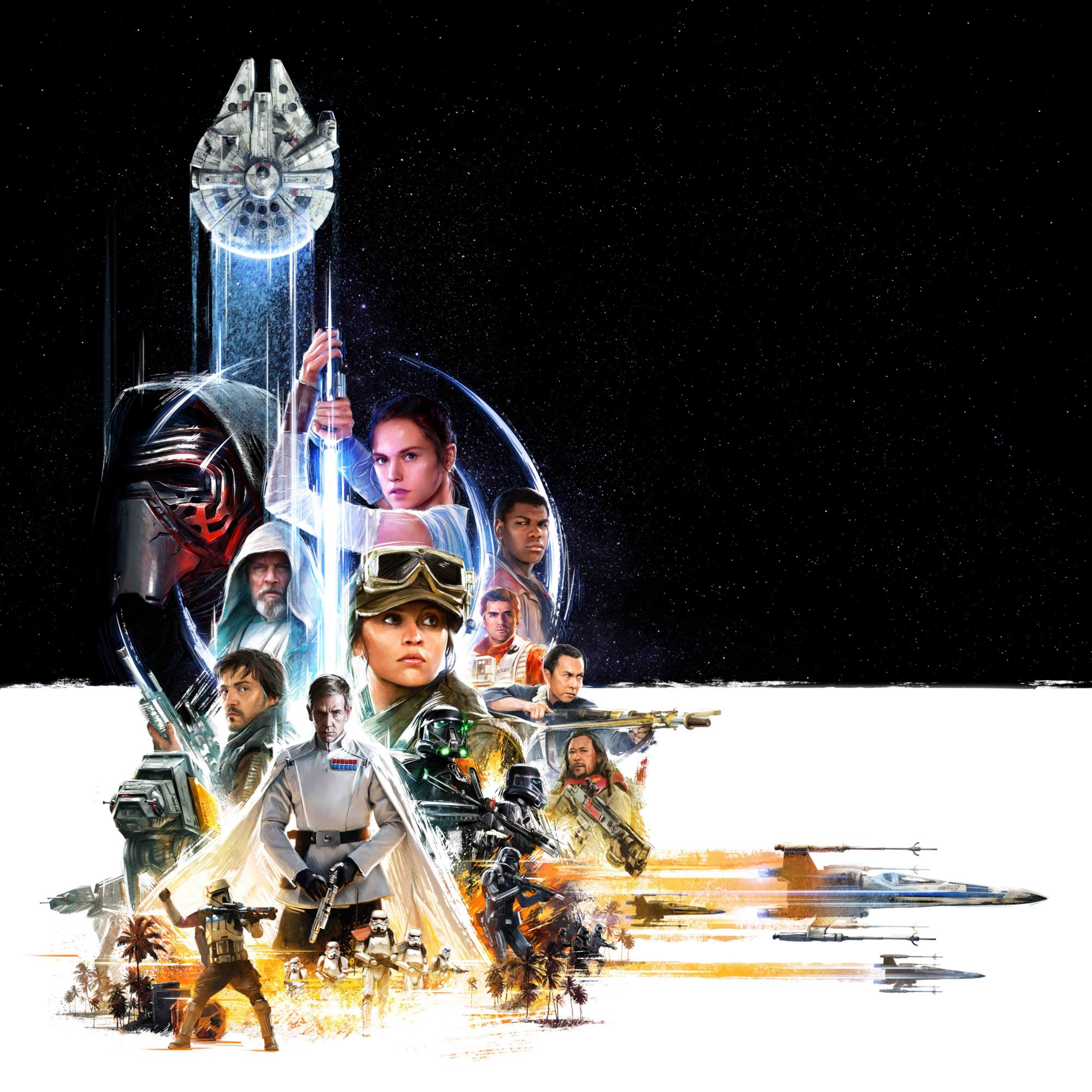 Celebration Episode VIII Rogue One