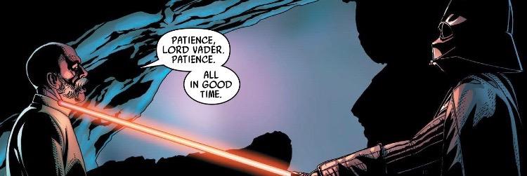 Spoiler Marvels Star Wars Darth Vader 20 The Cantina