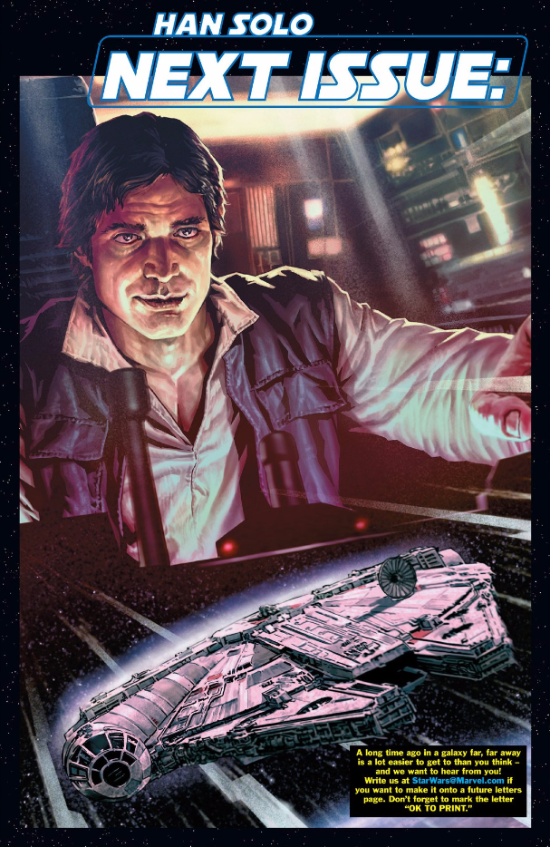 Han Solo #2 - Next Month