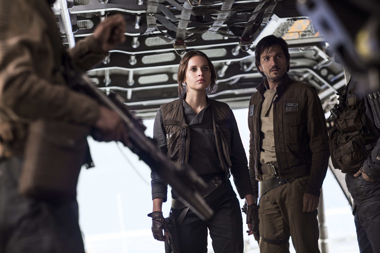 Rogue One Jyn & Cassian