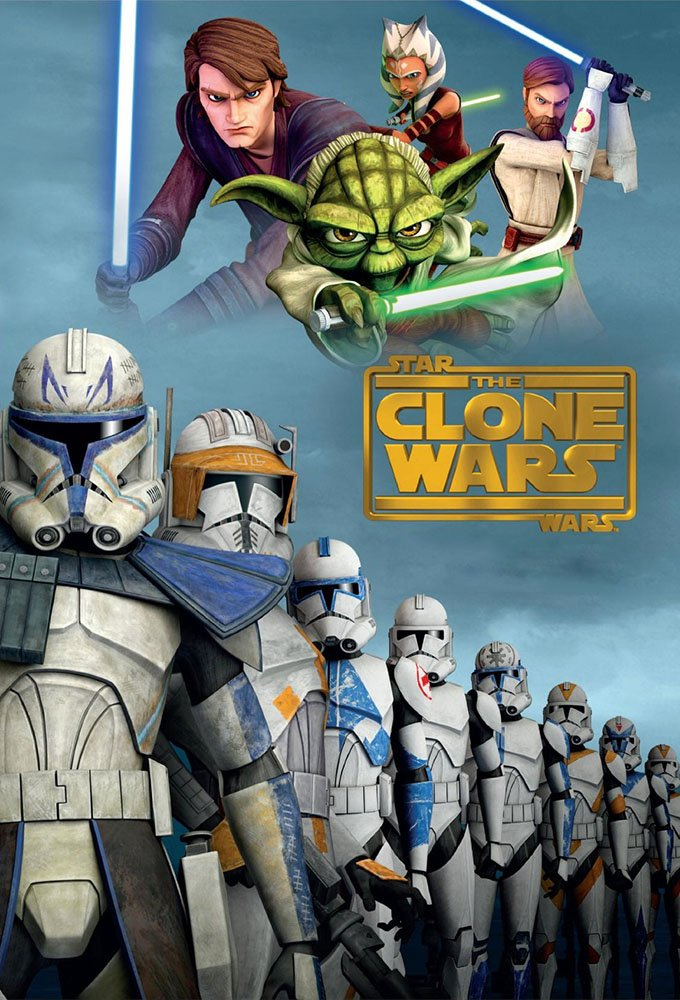 The Clone Wars Series Poster