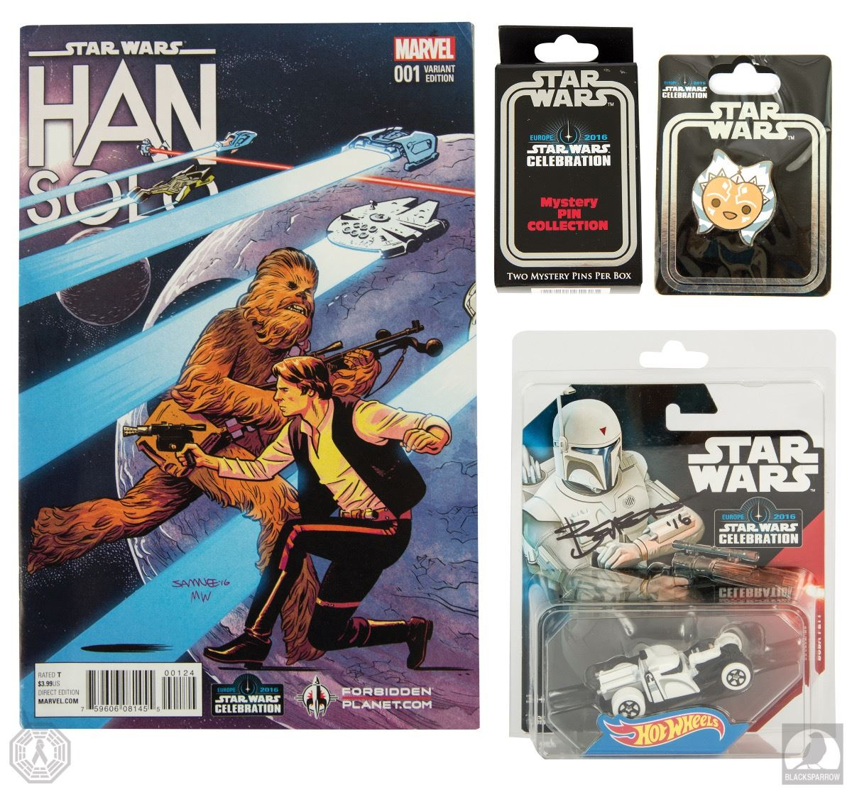 Han Solo Auction Package
