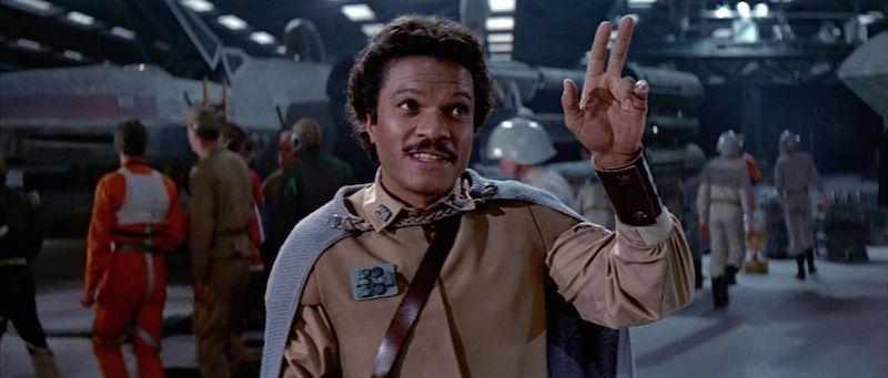 Image result for Lando salute
