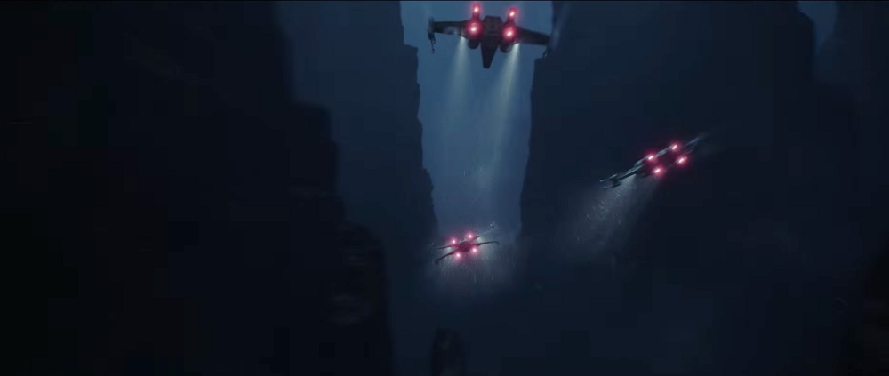 Rogue One X-Wings