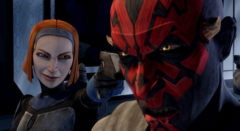 Bo Katan and Darth Maul