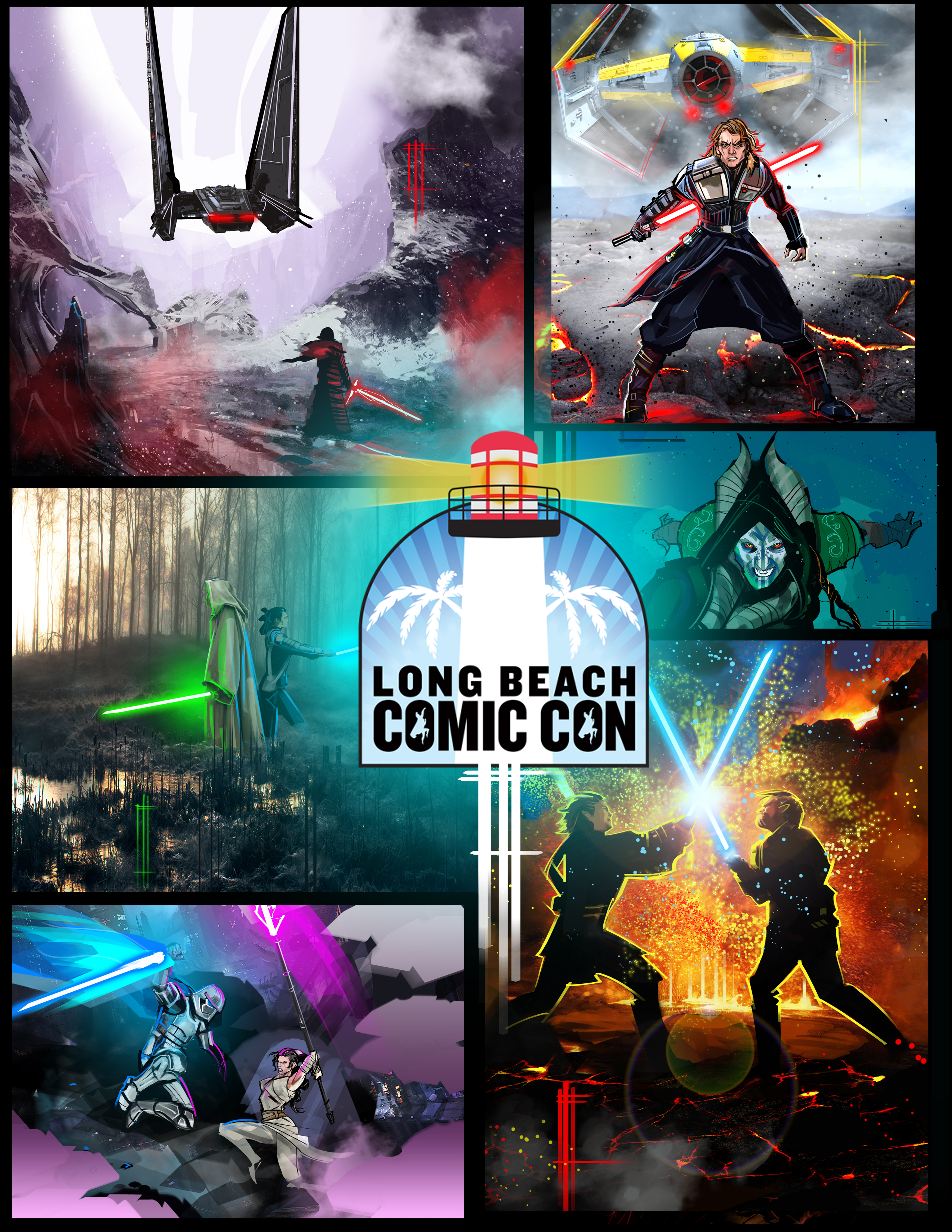 Artist eli hyders star wars art to be on display at long beach our friend eli hyder is a huge star wars fan and will be displayingselling some of his fan art this weekend at long beach comic con buycottarizona