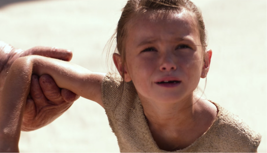 Image result for young rey star wars