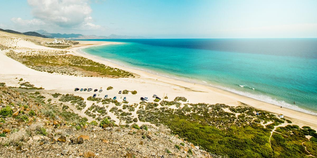 Spain Canary Islands Fuerteventura Jandia Thomas Cook