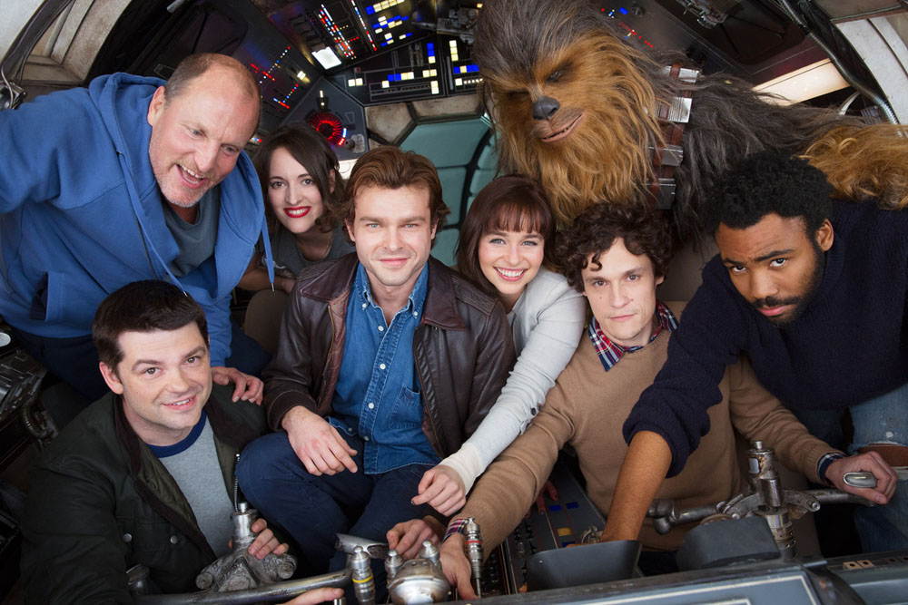 First Star Wars: Han Solo Cast Photo Revealed. Movie Confirmed for ...