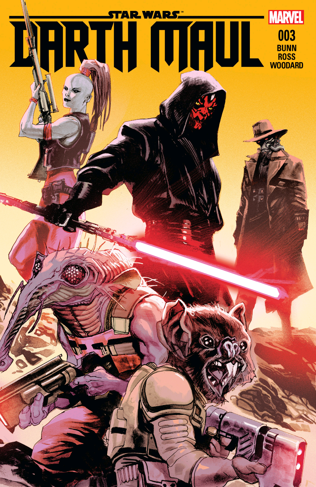 After A Pretty Solid Couple Of Issues The Limited Darth Maul Series Continues With Its