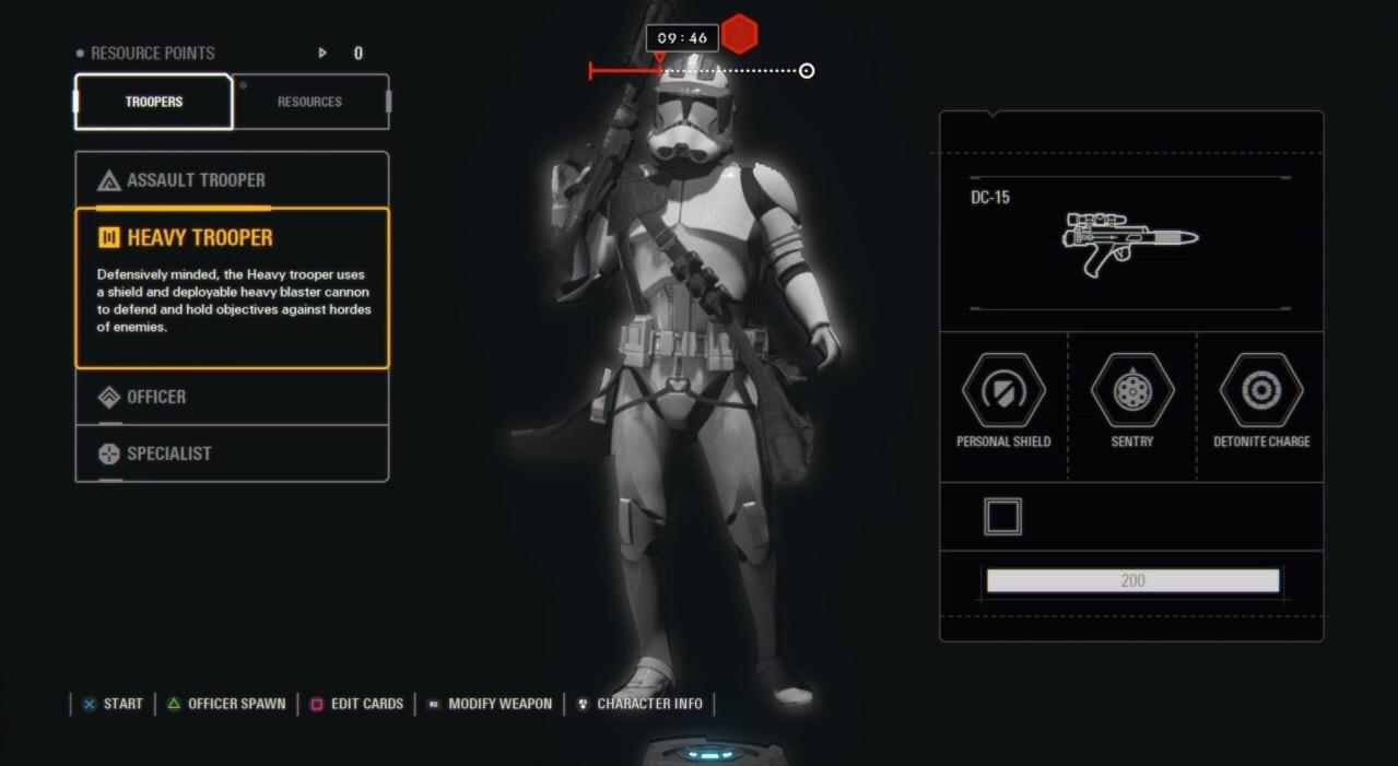 As You Can See DICE Have Simplified Battlefronts Five Character Class System And Battlefront IIs Eight Down To A Four