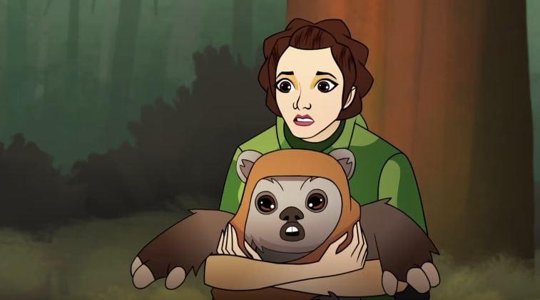 Следващите два епизода на Forces of Destiny са за Лея и Асока