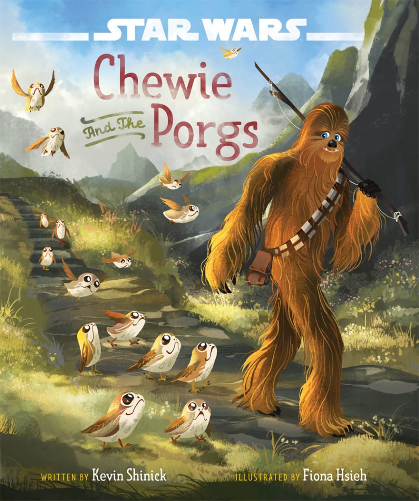 chewy and the porgs cover