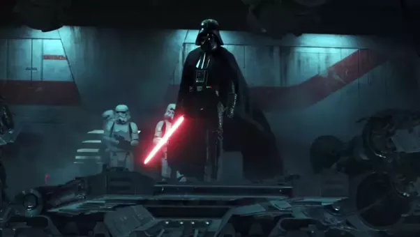 Darth Vader Rogue One Ending
