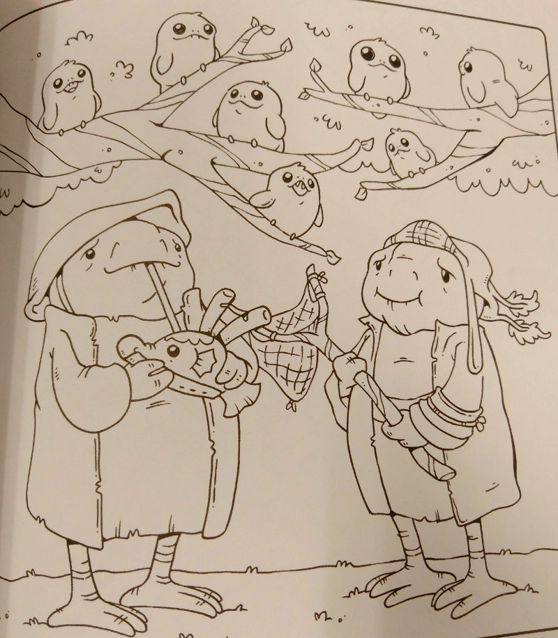 Discussion: Spoilers/Rumors - Page 38 Porgs