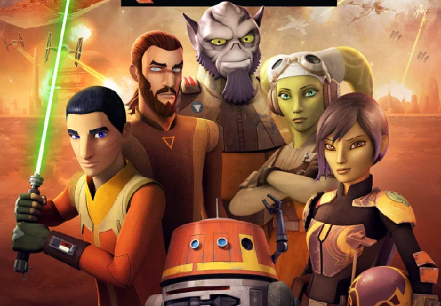 Star Wars Rebels season 4 promo artwork
