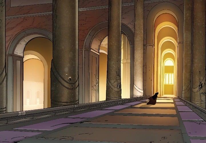 marvelvader6- intruder in the temple