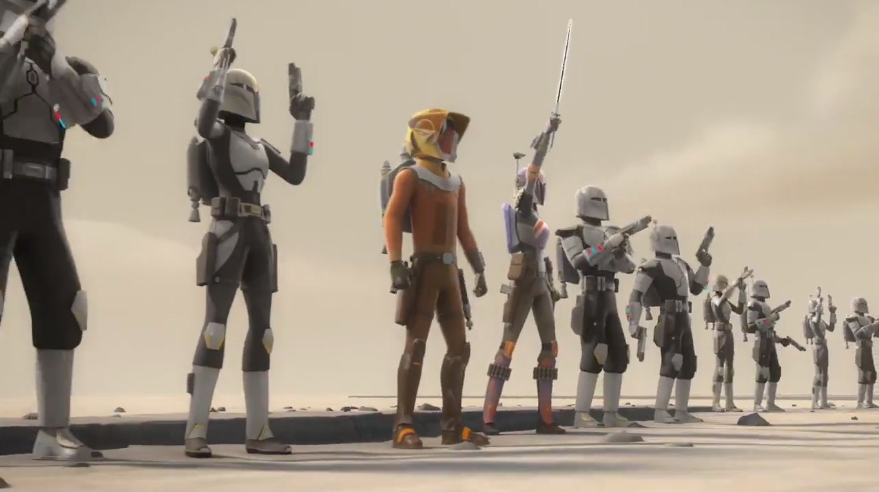 Sabine and Ezra Stand Together in a Brand New Trailer for