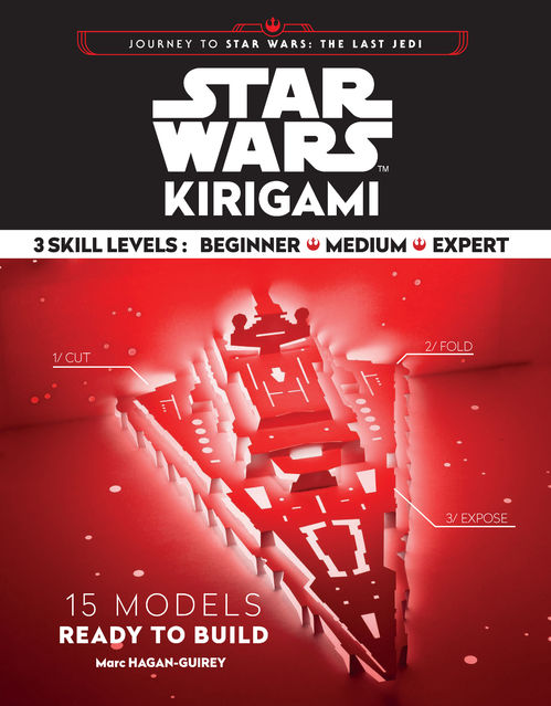 Star Wars & Star Trek Origami: fandom's delight. | 639x499