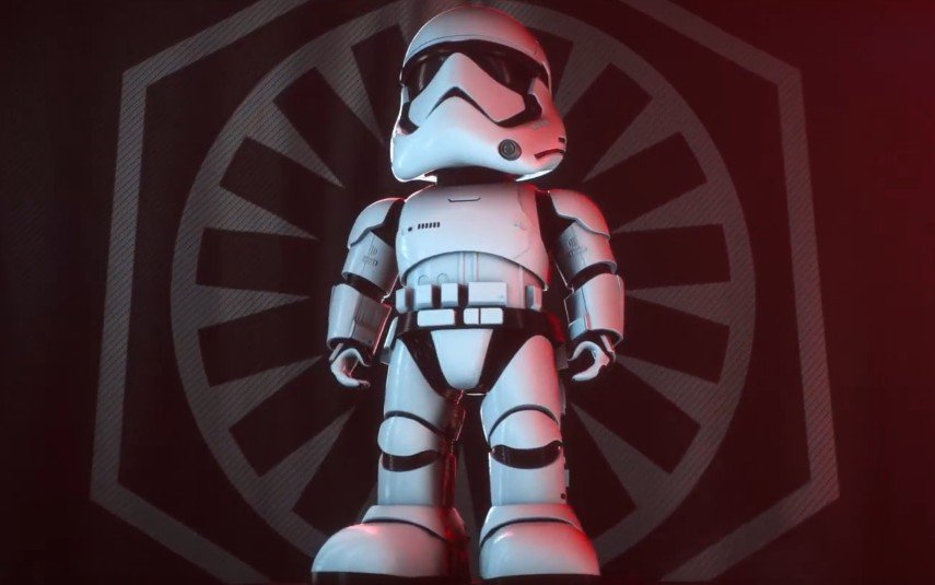 Ubtech introduces new star wars first order stormtrooper robot with companion app
