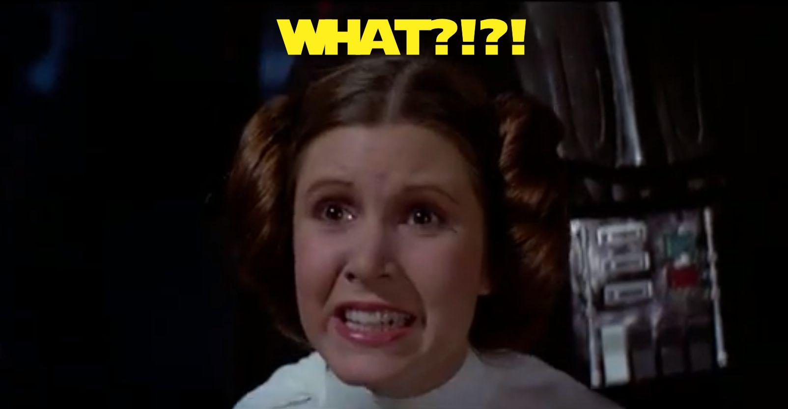 Leia - WHAT?!?!