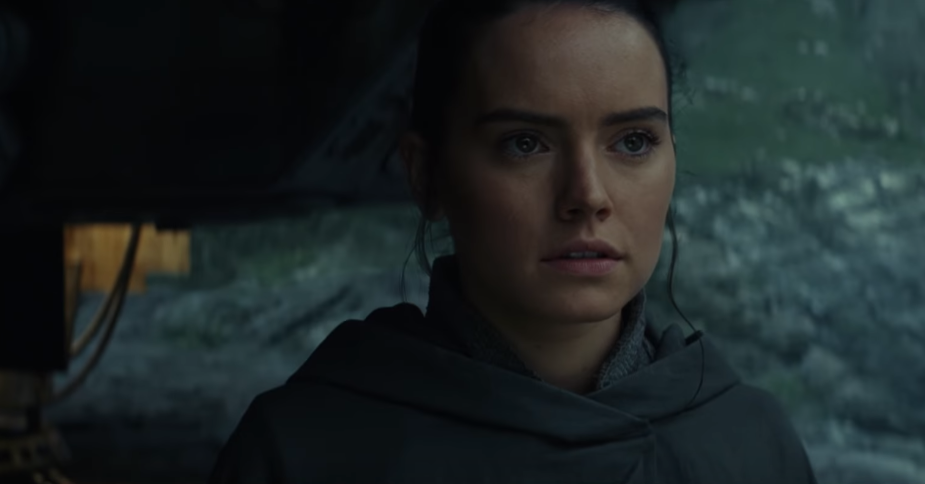 Rey in Star Wars The Last Jedi
