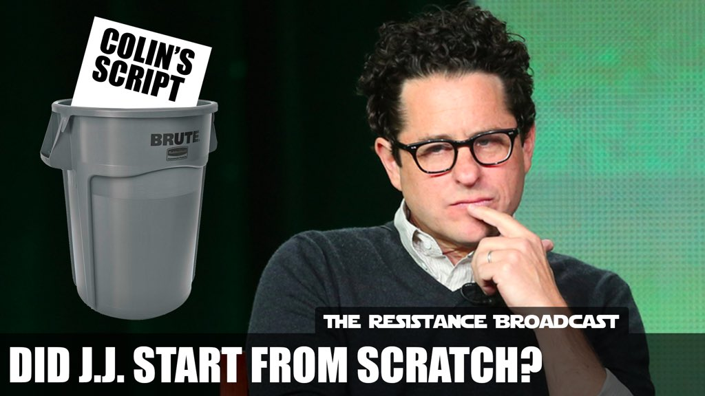 the resistance broadcast did jj abrams write star wars episode ix