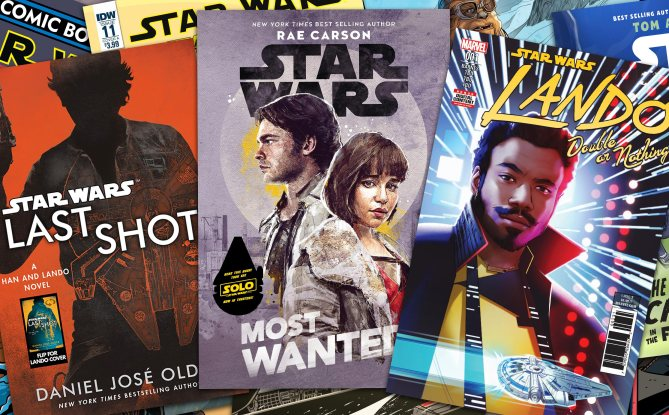 Solo: A Star Wars Story Tie-In Books and Comics Revealed!