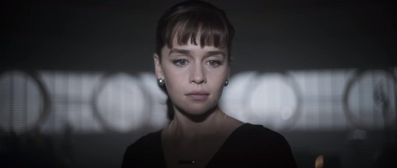 Emilia Clarke as Qi'ra in Solo