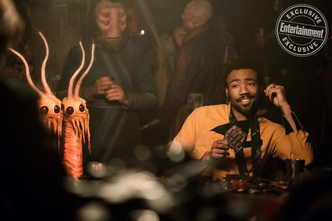 """SOLO: A STAR WARS STORY Donald Glover is Lando Calrissian. """""""
