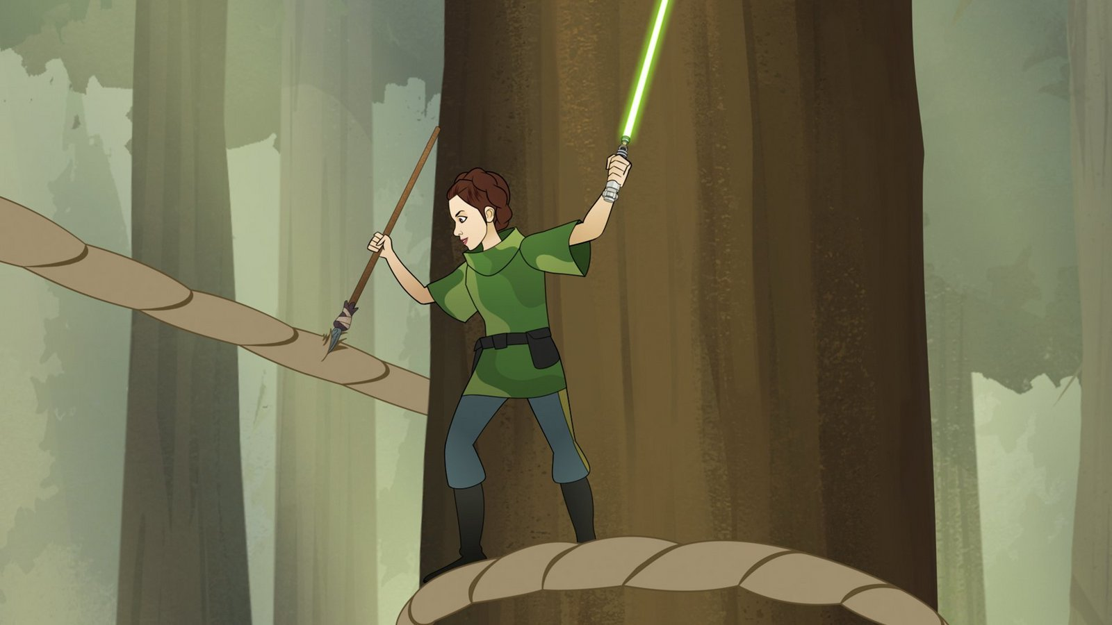 Star Wars Forces Of Destiny Returns With New Episodes Tomorrow Followed By A Tv Special May 25th On The Disney Channel Star Wars News Net