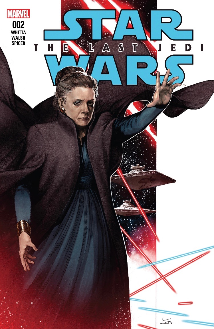 Review Rey Feels The Force In Marvel's The Last Jedi #2