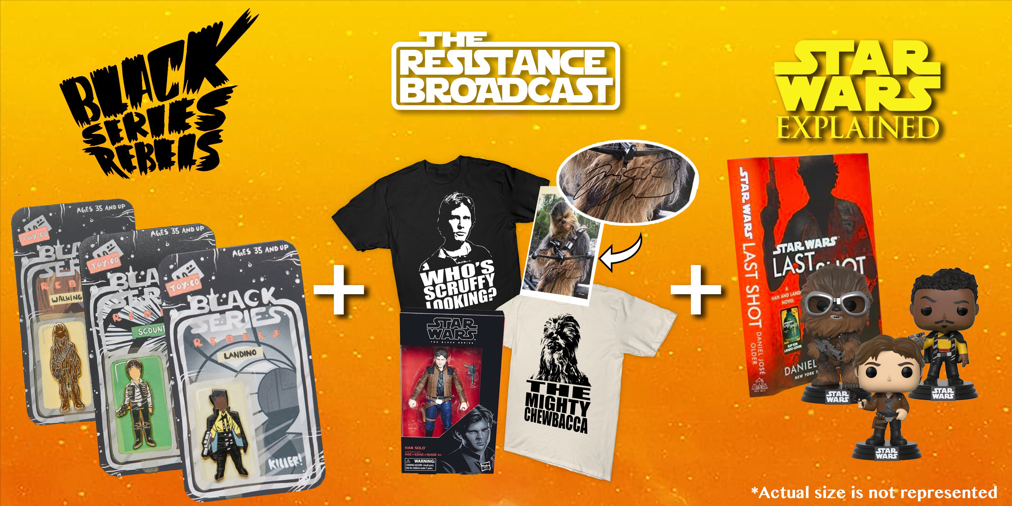 Enter to Win the Solo Challenge Prize Package Presented by The Resistance  Broadcast, Star Wars Explained, and Black Series Rebels!