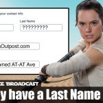 The Resistance Broadcast – Will Rey Take on a Last Name by the End of Episode IX?