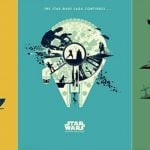 New Star Wars Original Trilogy Prints from Artist Matt Ferguson Now Available from Bottleneck Gallery!
