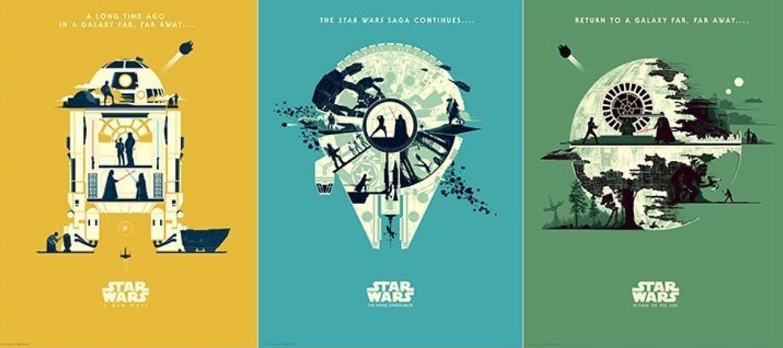 New Star Wars Original Trilogy Prints From Artist Matt Ferguson Now Available From Bottleneck Gallery Star Wars News Net