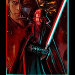 Artist Eli Hyder's 'The Chosen One' Anakin/Vader Crossover Design on Sale Now for Three Days