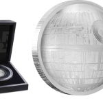 Promo: An Ultra High Relief Death Star Appears in Pure Silver!