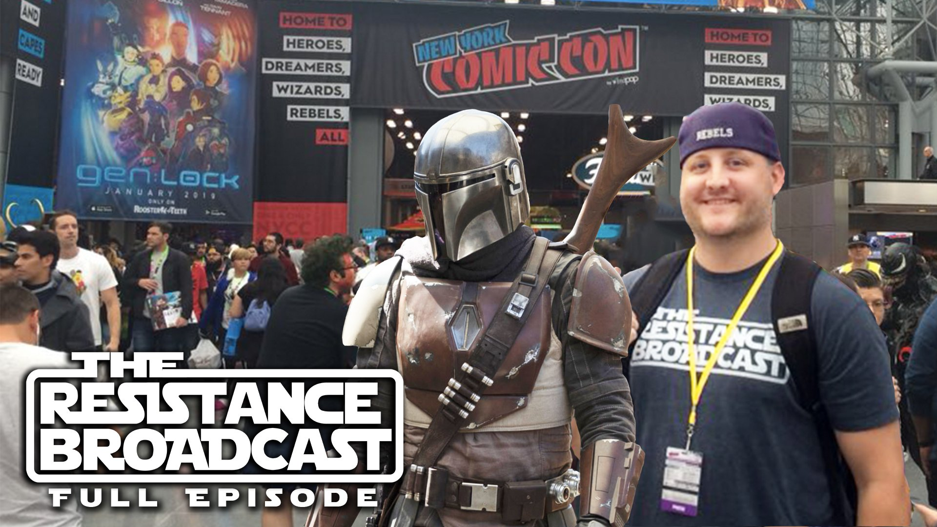 the resistance broadcast the mandalorian and new york
