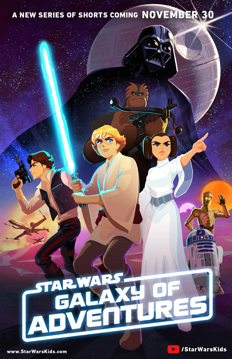 Star Wars: Galaxy of Adventures Animated Shorts Debut on Star Wars ...