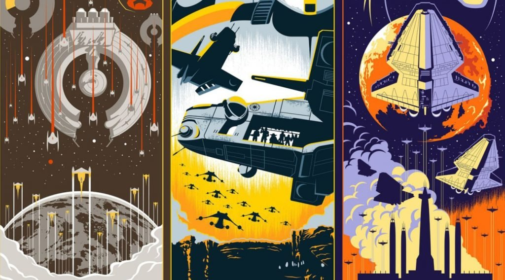 Check Out Eric Tan S Eight Stunning Star Wars Posters