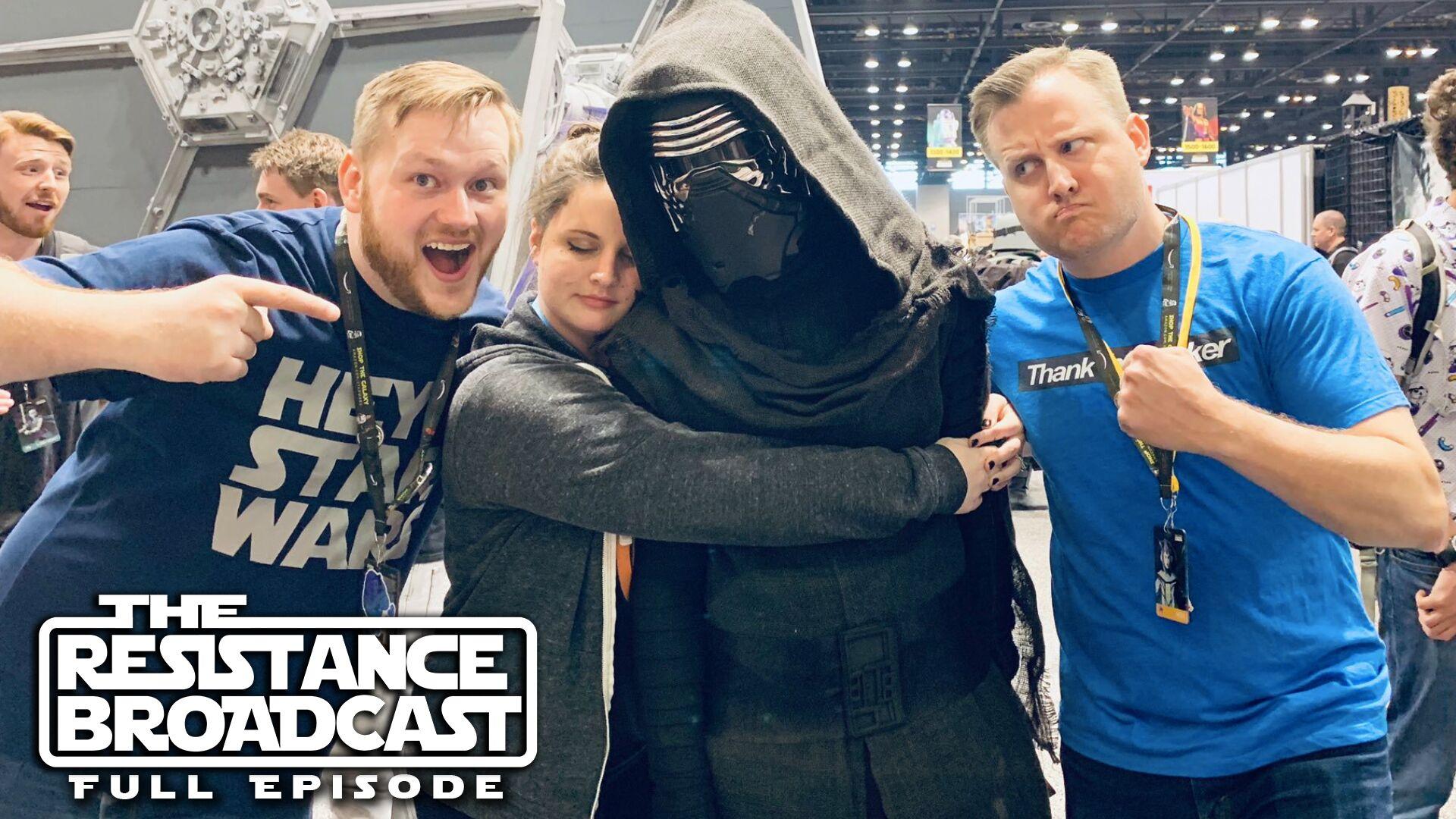 The Resistance Broadcast Star Wars Celebration Complete