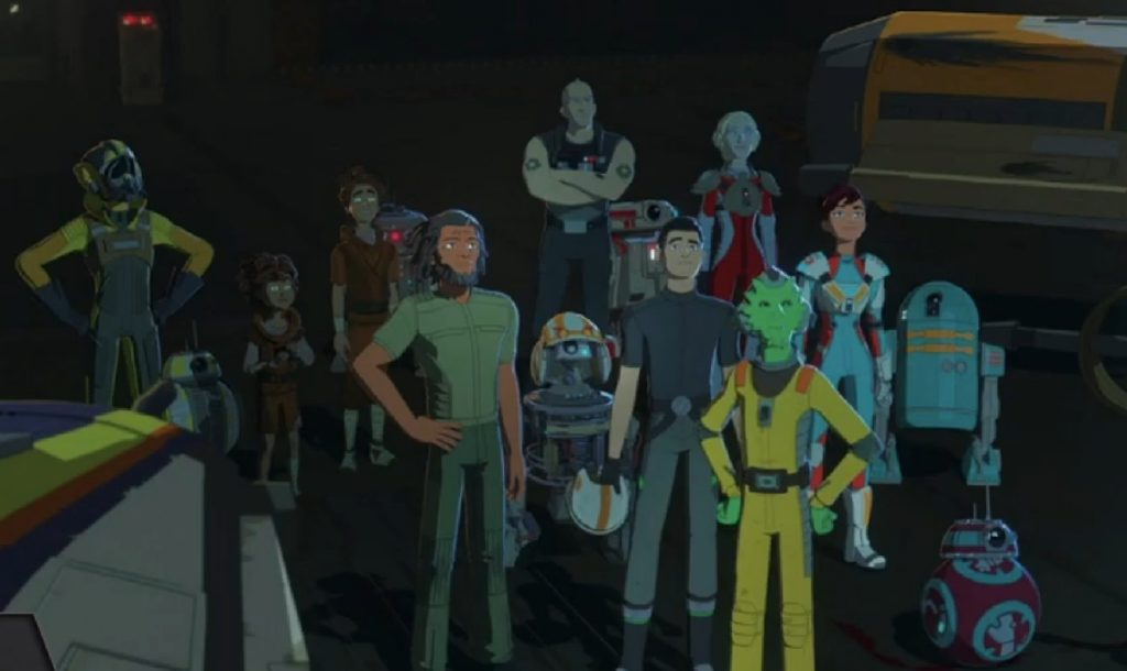 Star Wars Resistance Panel Recap with Review of the First Episode from Season 2