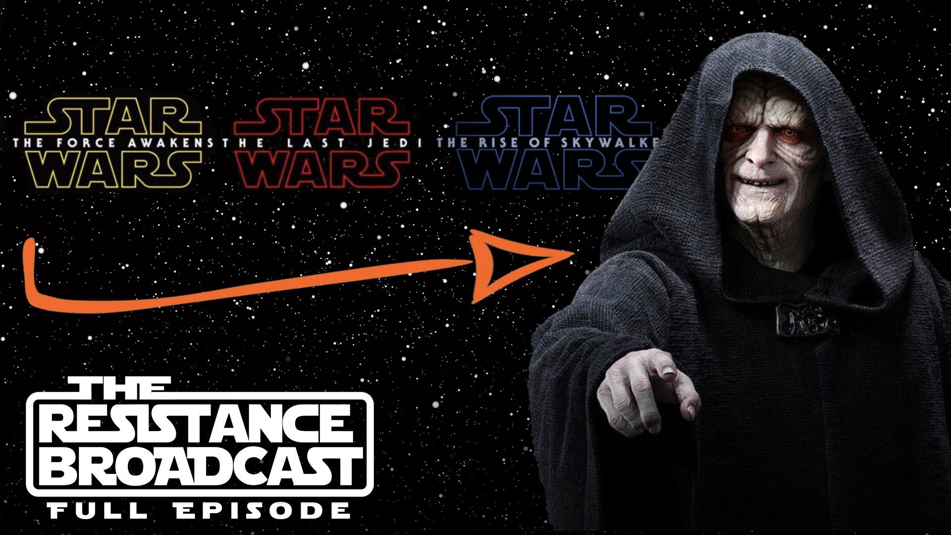 The Resistance Broadcast Palpatine Was Part Of Star Wars Sequel Trilogy Plans All Along Star Wars News Net