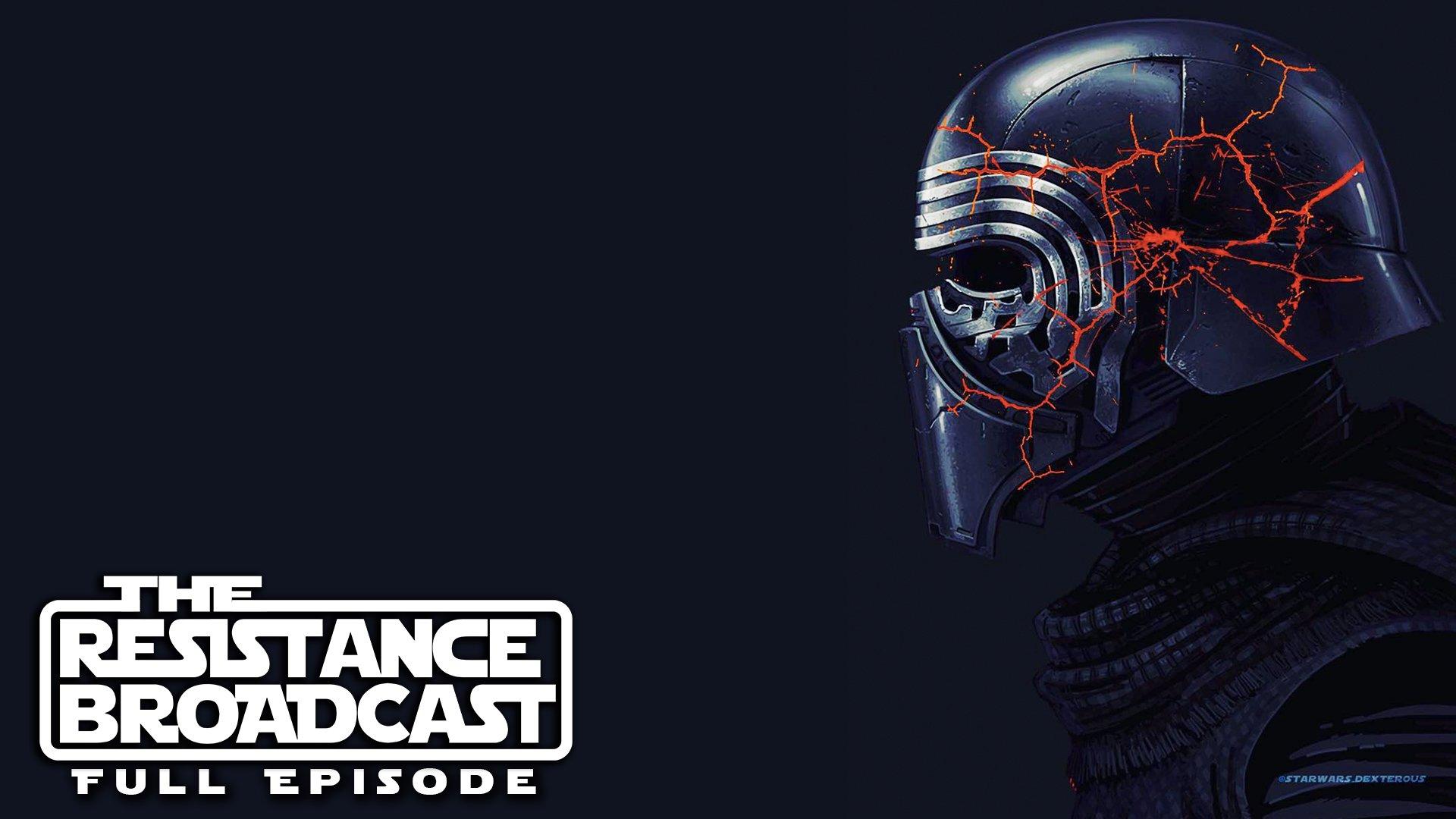 The Resistance Broadcast Kylo Ren S Mask Returns In Star Wars Episode Ix Star Wars News Net