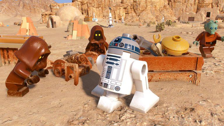 LEGO Star Wars Tatuin R2D2
