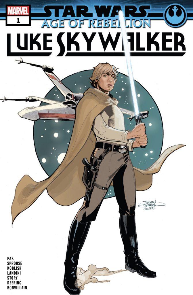 Review – The Last Jedi Rises In Marvel's Age of Rebellion: Luke Skywalker